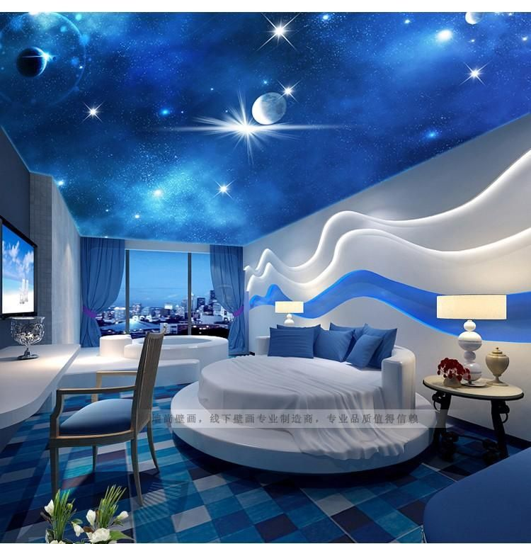 top 25 false ceiling design options for kids rooms 2018 ceilings kids rooms and 3d wallpaper - 3d Bedroom Designs