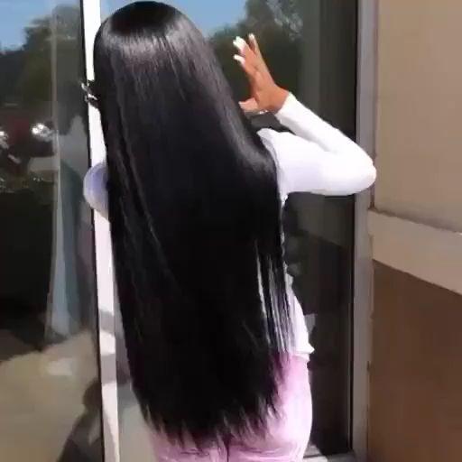 Photo of precio barato 100% cabello virgen hecho peluca recta pelucas de cabello de encaje completo