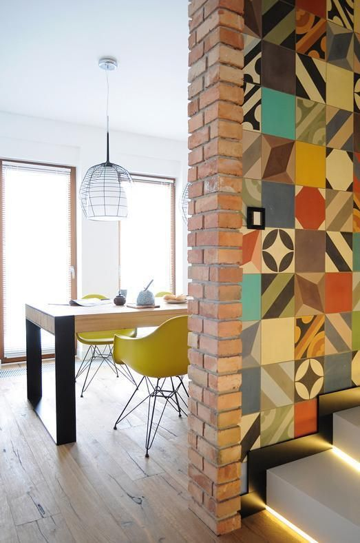 les carreaux de ciment grimpent aux murs nouveau. Black Bedroom Furniture Sets. Home Design Ideas