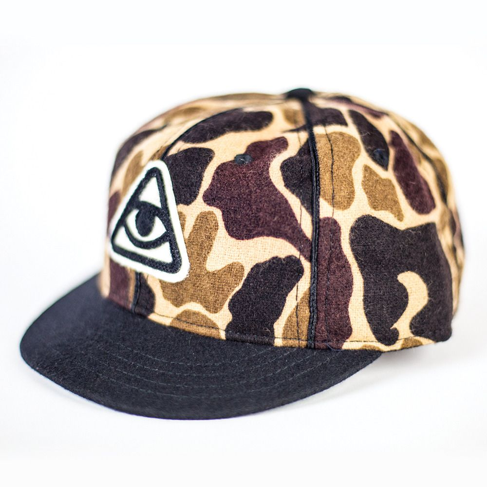 Image of Enemy To Fashion - Ebbets Field Vintage Camo Cap Ebbets.com for  custom orders c8ee1e074fd7