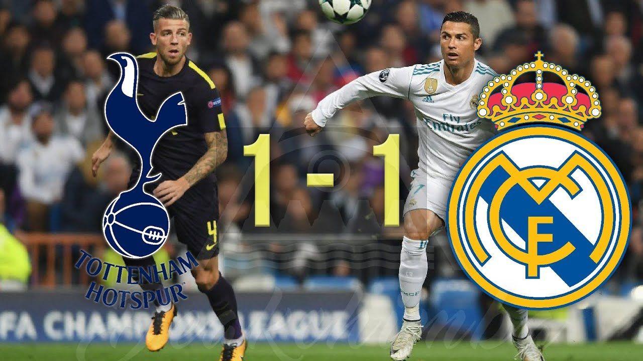 Resumen Real Madrid 1 1 Tottenham Tottenham, Captain