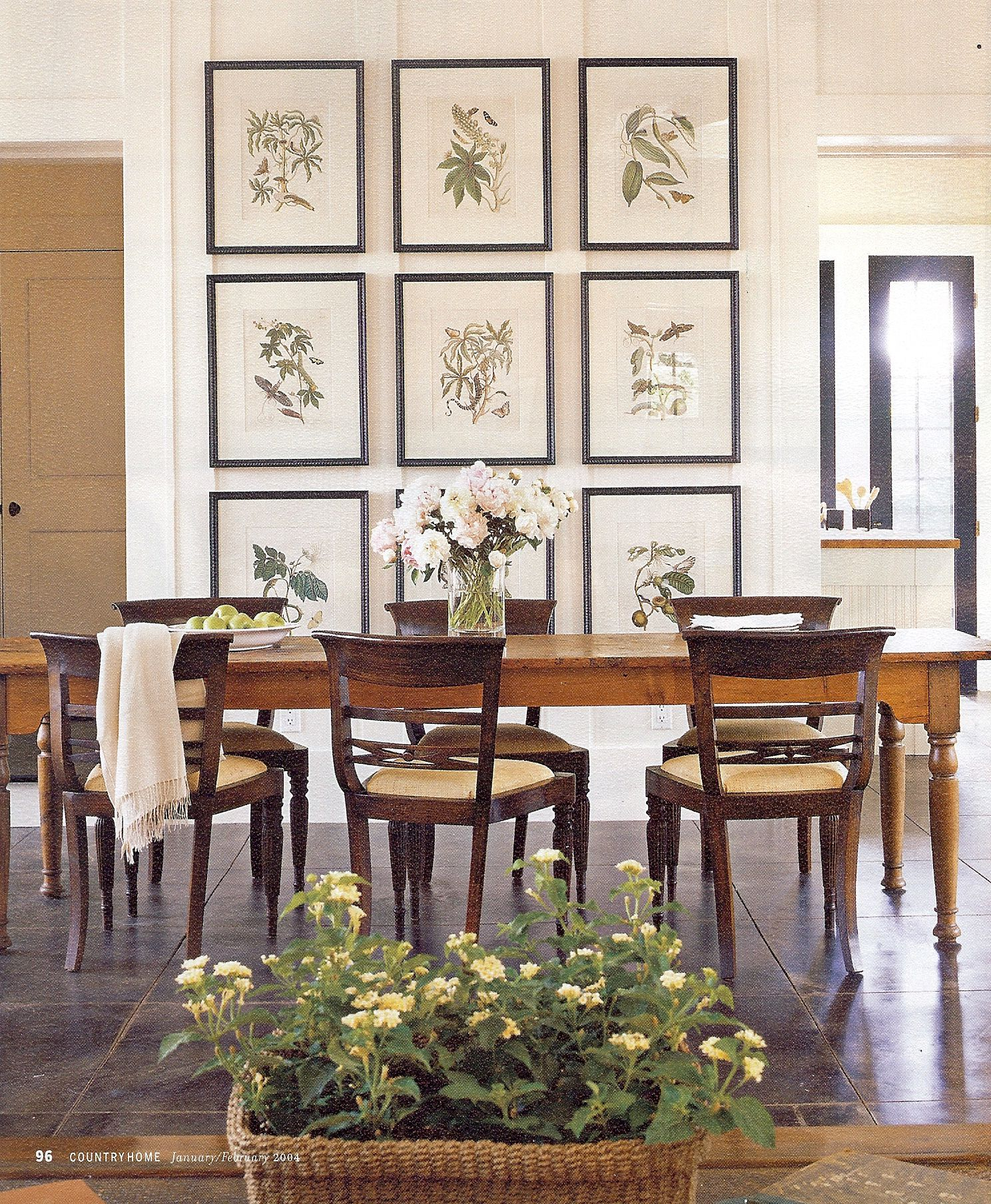 Interior design classic shingle style pinterest for Wall decor for dining room area