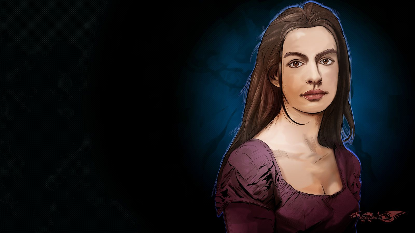 I Dreamed A Dream Anne Hathaway By Akyanyme Deviantart Com On