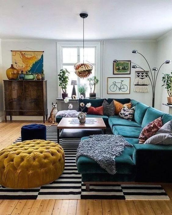 Colorful Living Room Decor Colorful Living Room Salon Eclectique Deco Salon Deco Appartement