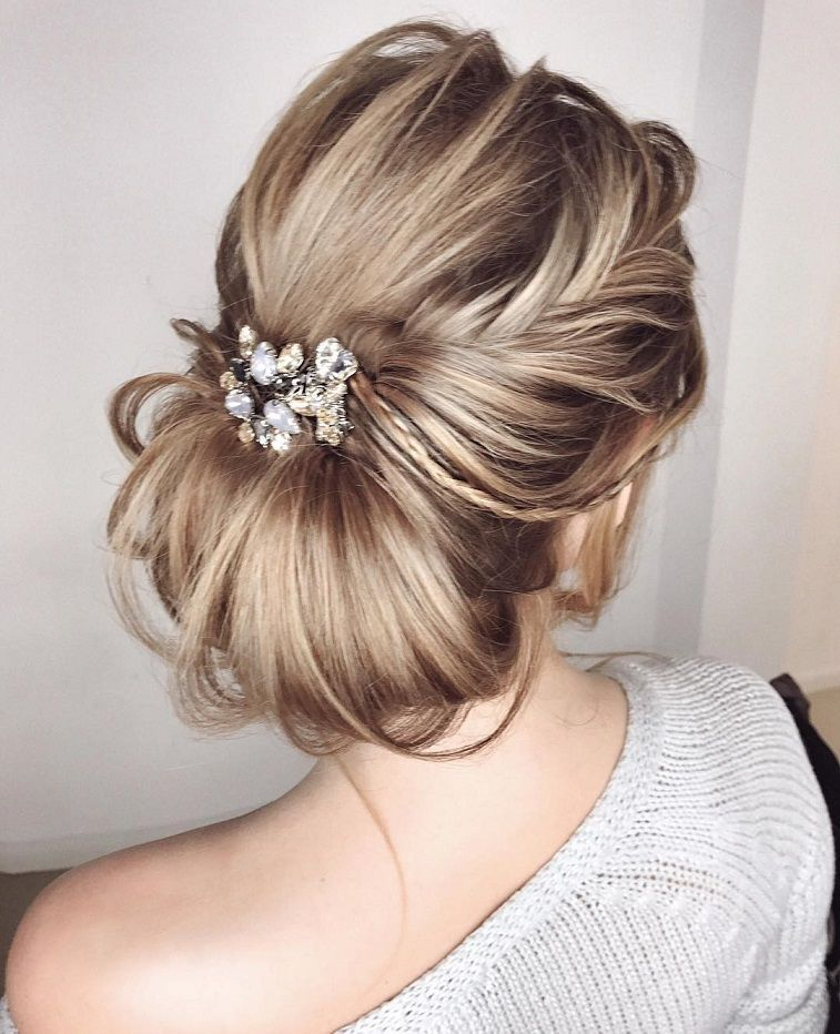 Wedding Hairstyles Chignon: 100 Gorgeous Wedding Hair From Ceremony To Reception