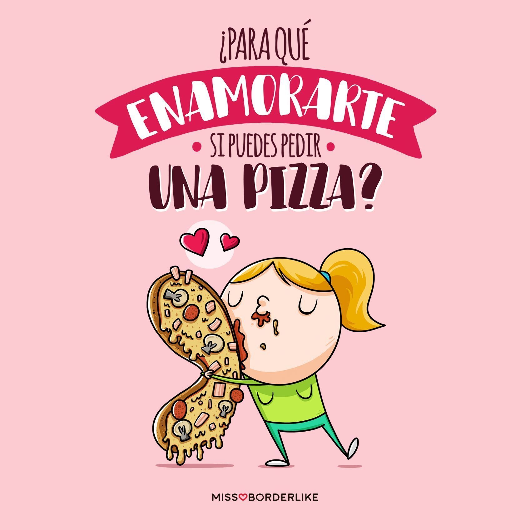 Why fall in love if you can order a pizza? funny funny