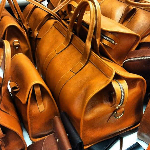 Bags from Frank Clegg.
