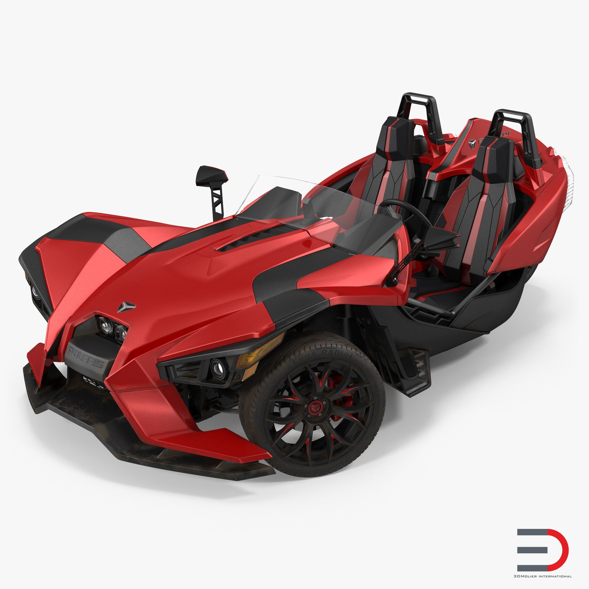 Polaris Slingshot Trike 3d model | 3D Models of Cars, Buses, Tanks ...