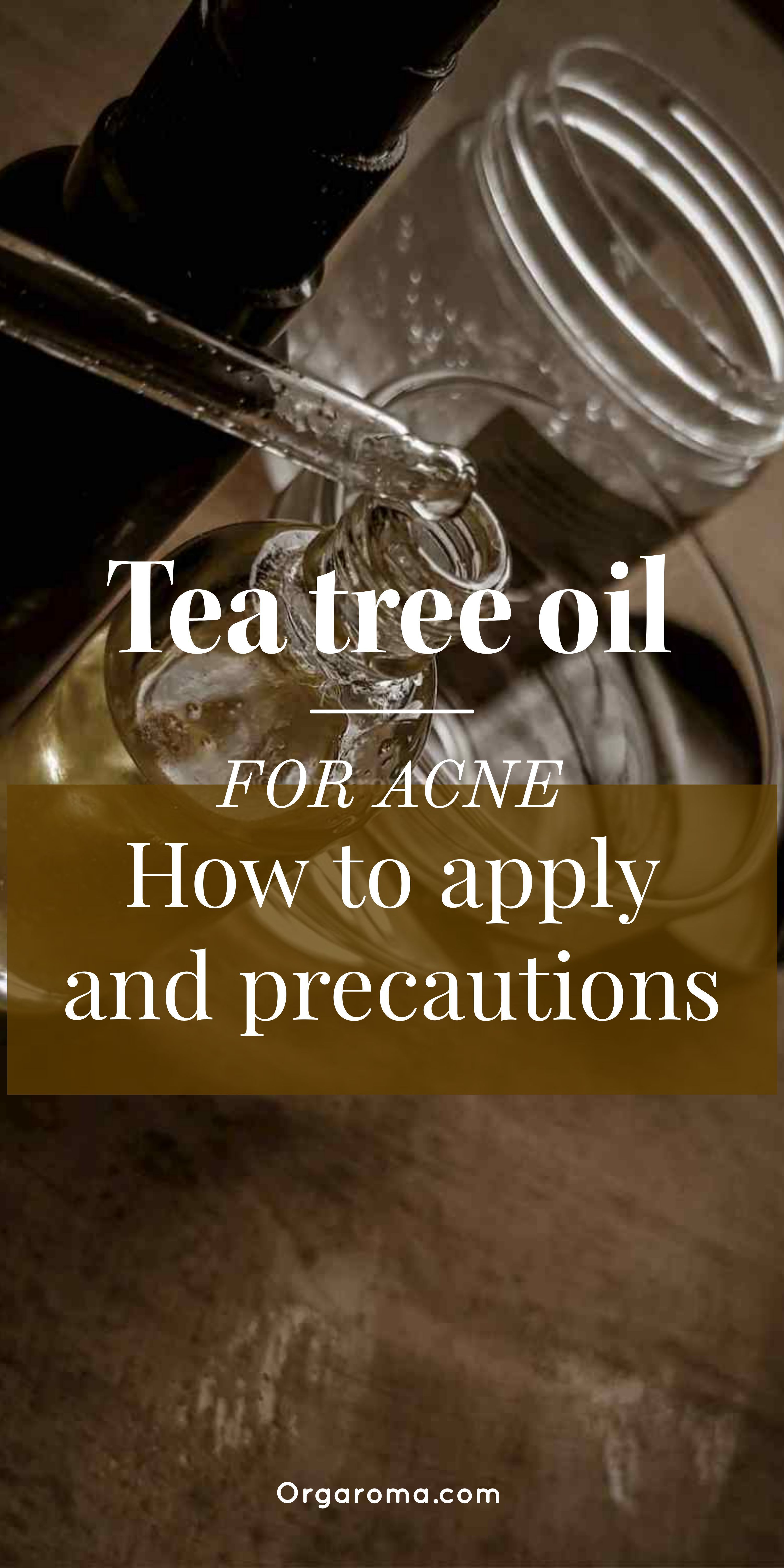 Soda and acne baking oil tea tree for How To