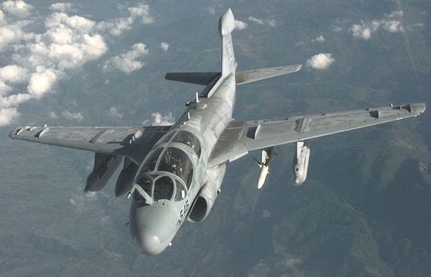 The Prowler is armed with the HARM high-speed anti-radiation missile, AGM-88. - Image - Airforce Technology