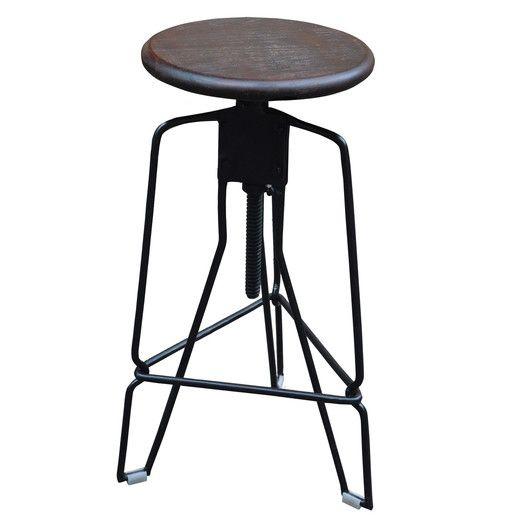 Nspire Adjustable Height Swivel Bar Stool Allmodern Adjustable Stool Bar Stools Swivel Bar Stools