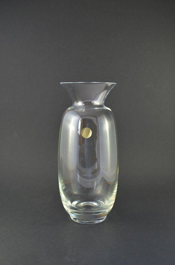 Clear Crystal Glass Vase Simple Modernist Design Flower Vase