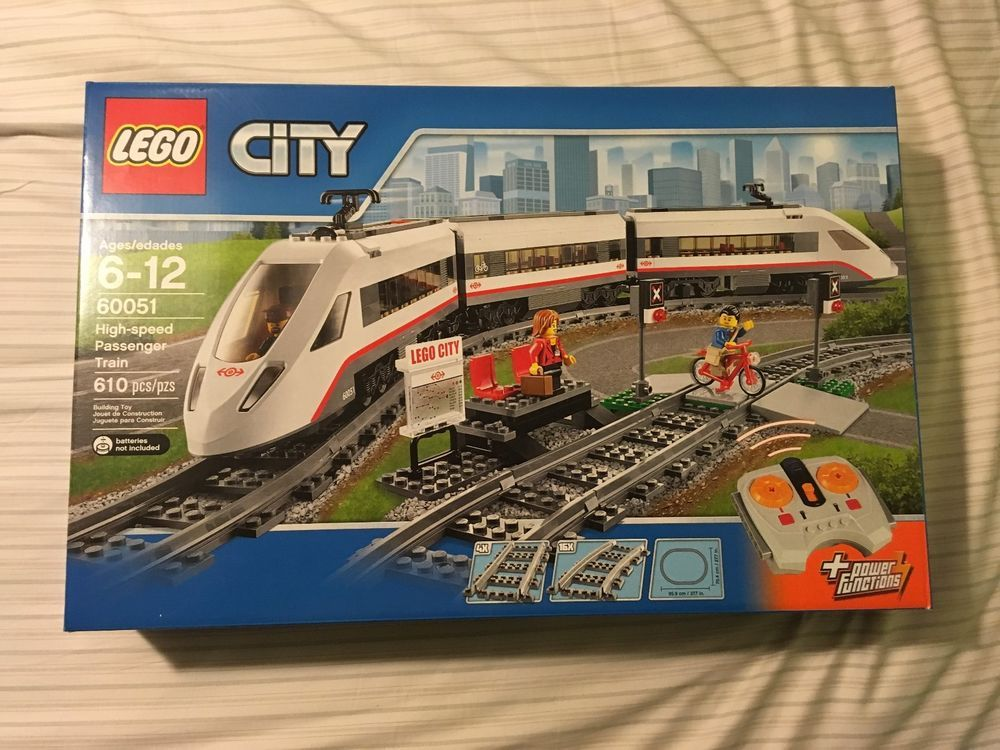 Lego City High Speed Passenger Train 60051 Nib Lego City Passenger