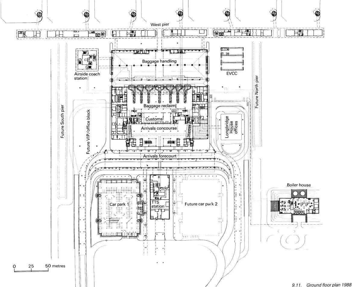 Existing International Airport Layouts Airport Design Airport