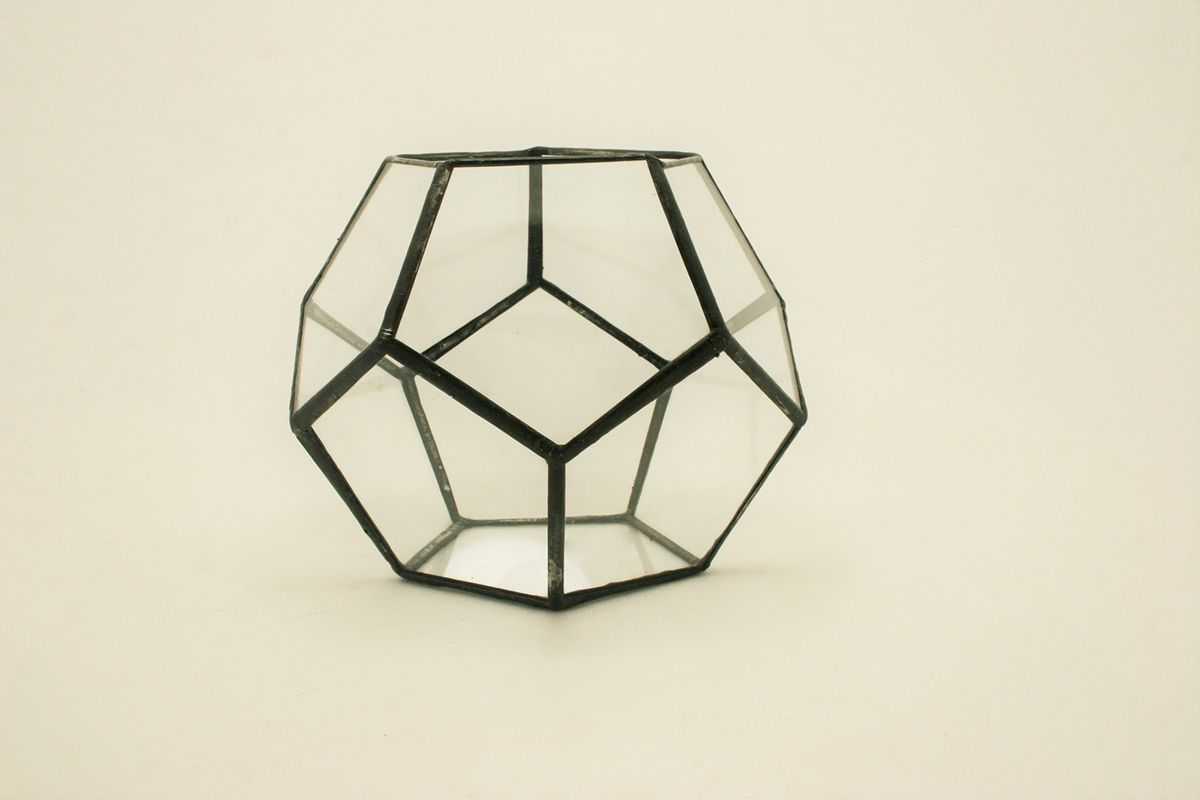 Glass Terrarium - Dodecahedron on Behance