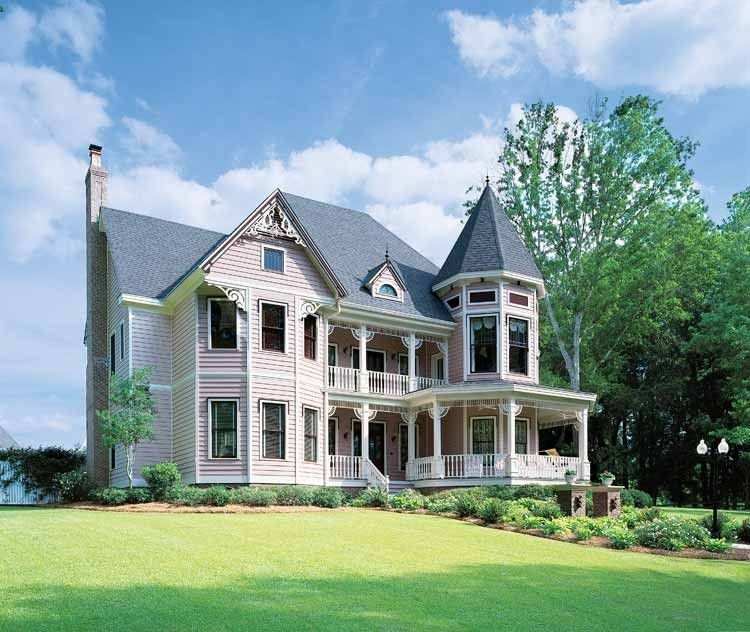 Victorian Style House Plan 5 Beds 4 Baths 4821 Sq Ft Plan 1047
