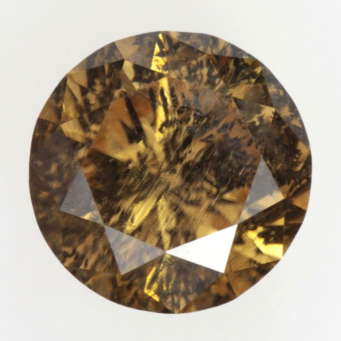 moissanite pin jewelry loose fashion ct brown fancy gemstone clarity gemstones color