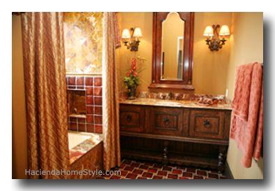 Hacienda Style Bathroom