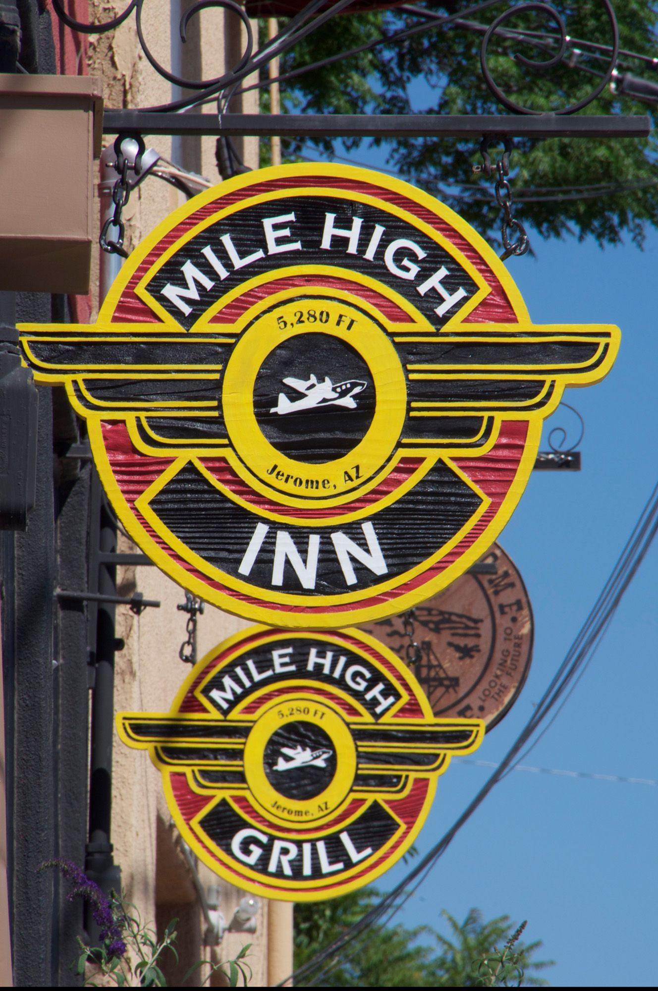 It's a trifecta at the Mile High Grill and Inn eat