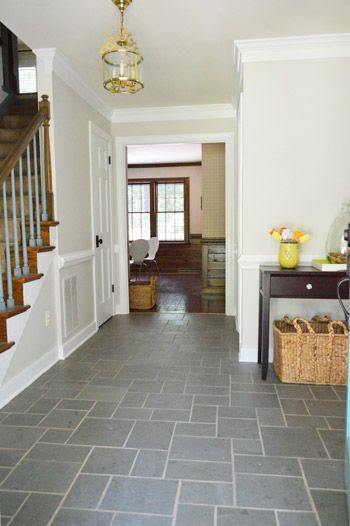 Neutral Foyer Colors : Foyer freshness a soft neutral paint color foyers