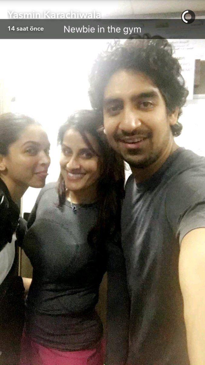 Deepika Padukone Snapchat
