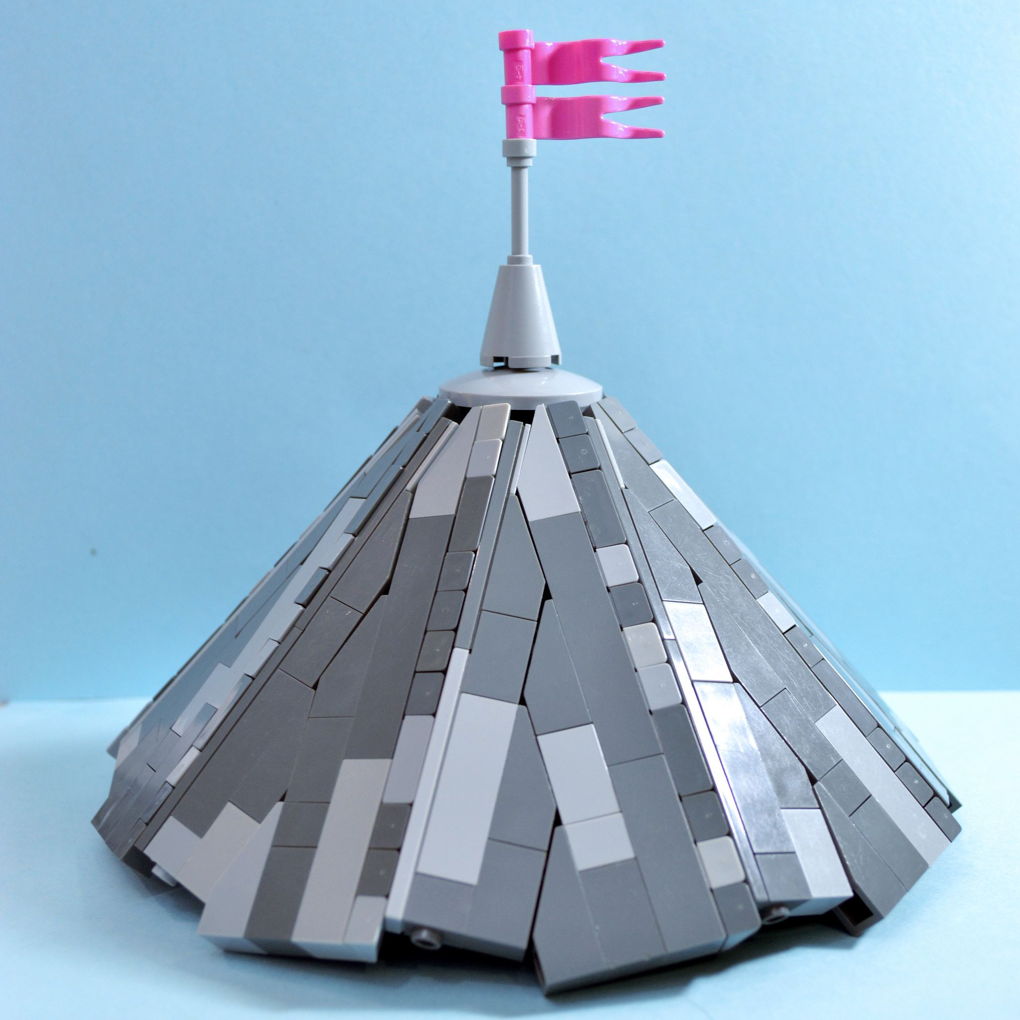 Brick Built Conical Roof Lego Architecture Lego Construction Cool Lego