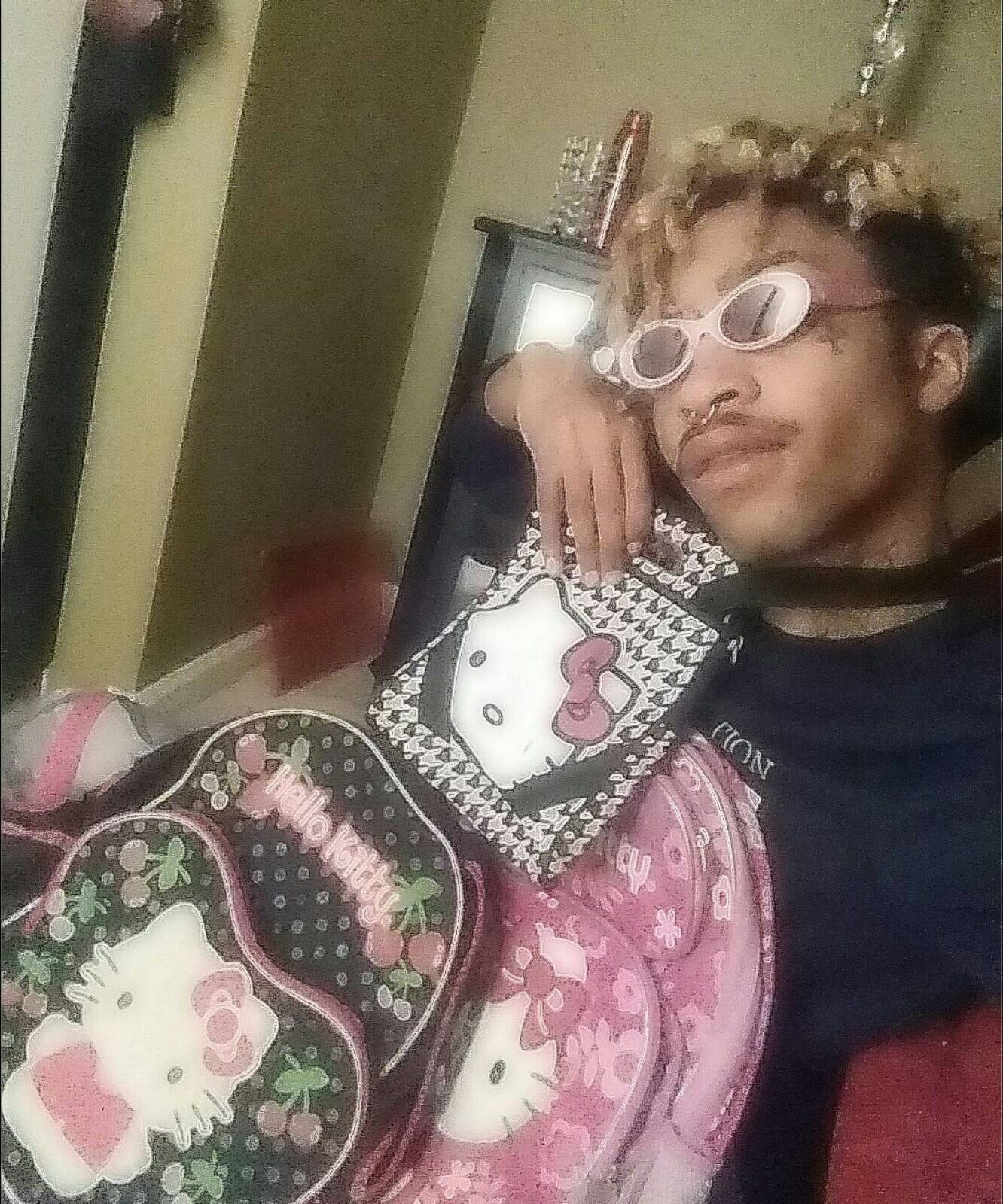 Lil Tracy In 2020 Lil Peep Hellboy Hello Kitty Pink Aesthetic