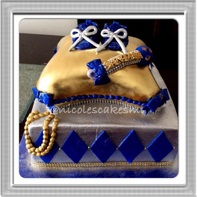 Baby For A By Royal Blue Centerpiece | 16318687792_00ba9c816d_z