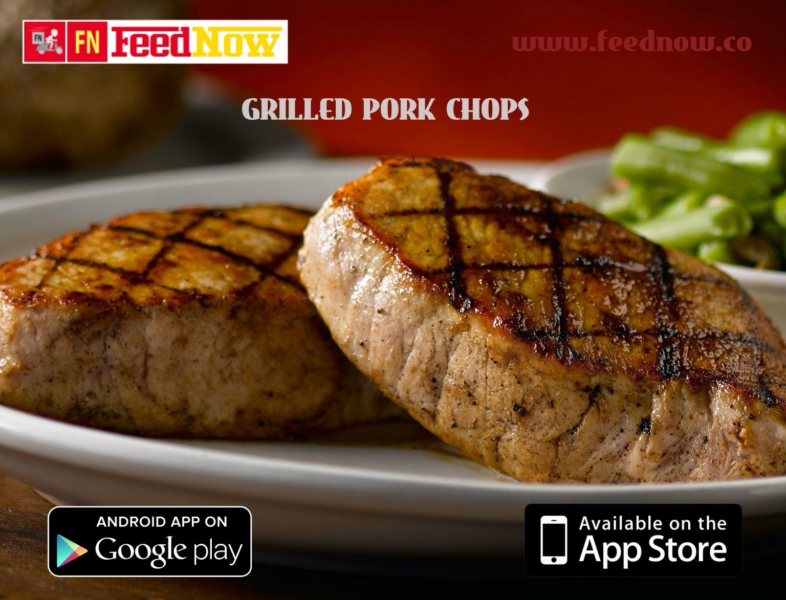 FeedNow has brought to you delicious GrilledPorkChops at