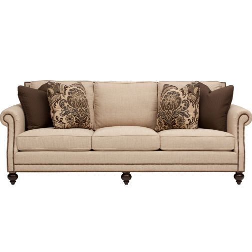 Brae Sofa Bernhardt Furniture Furniture Traditional Sofa