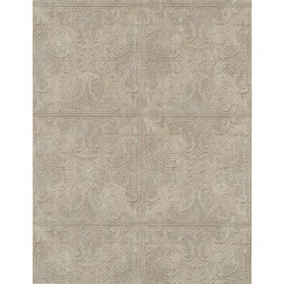 York Wallcoverings Wallpaper Pa131201lw Silver Metallic