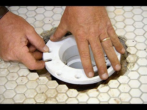 Watch The Full Episode Https Www Youtube Com Watch V Y 6bj6nmo O This Old House Plumbing And Heating Expert Richard Home Repair Toilet Flanges Home Repairs