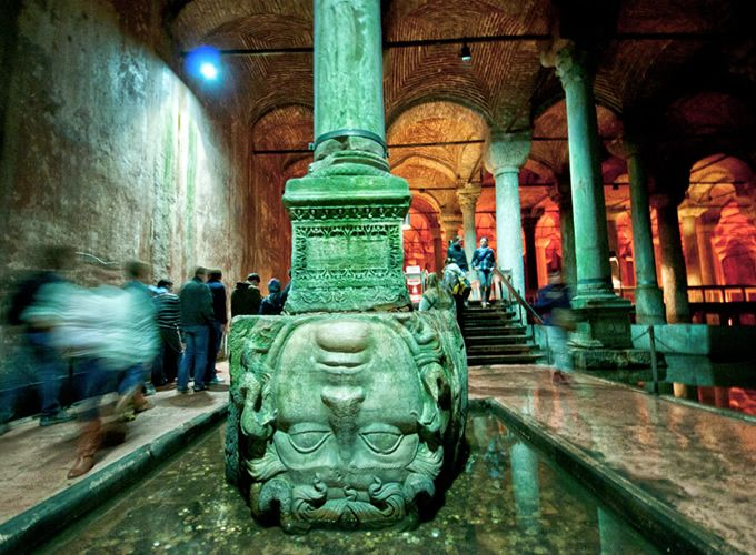 the basilica cistern turkish yerebatan sarayı quotsunken