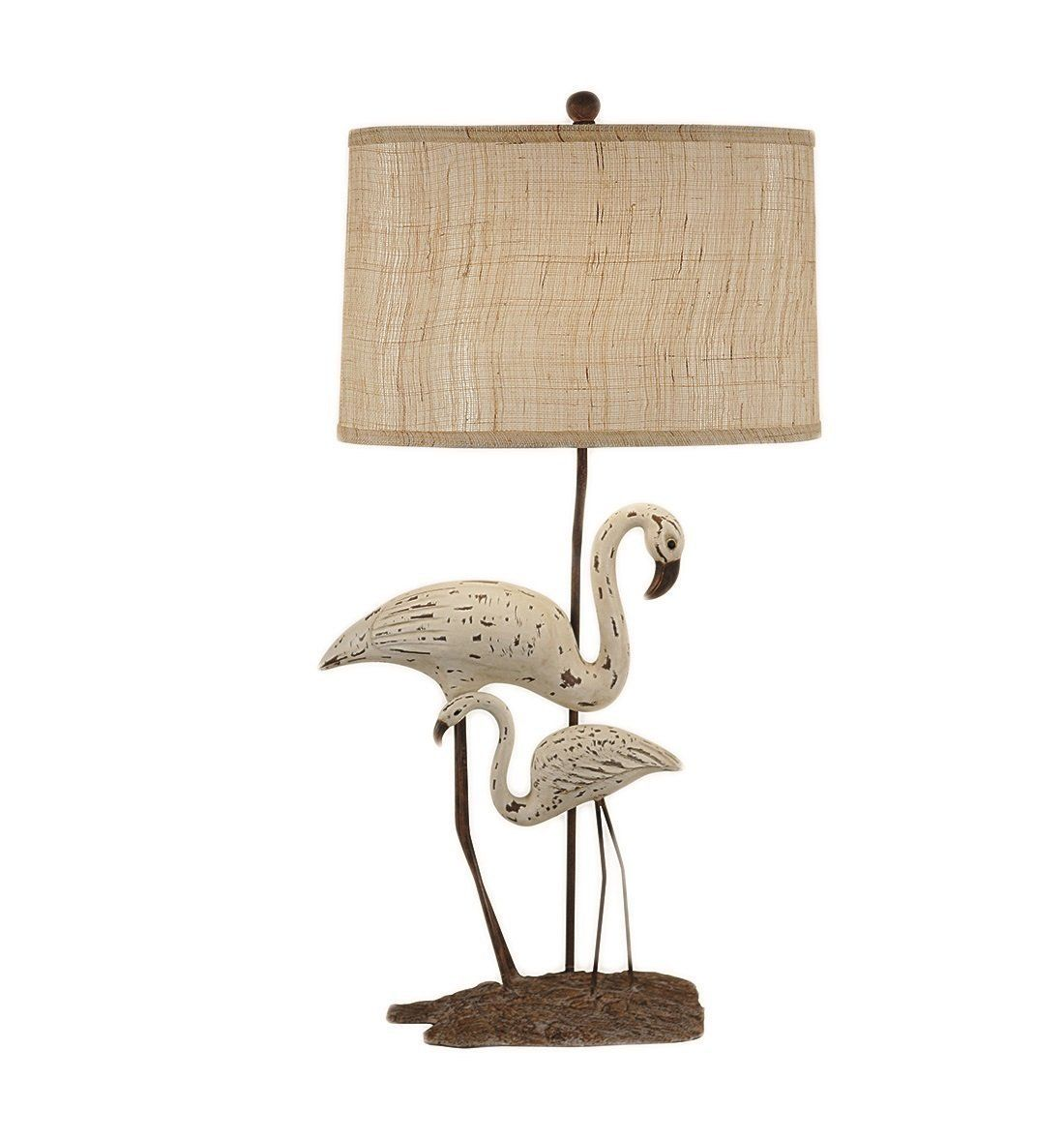 Greenwich Shore White Bird Table Lamp Beach Themed Lamps