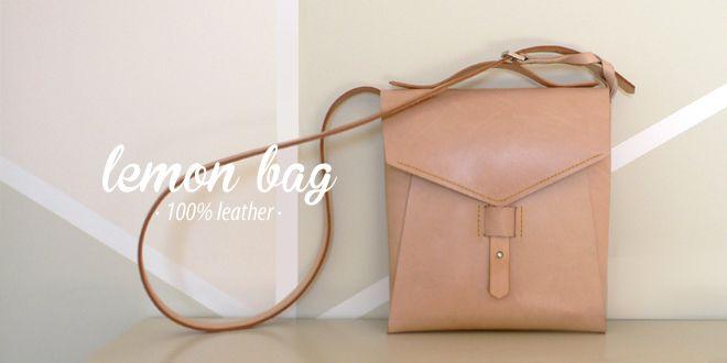 lemon bag · 100% leather http://marieladias.blogspot.pt