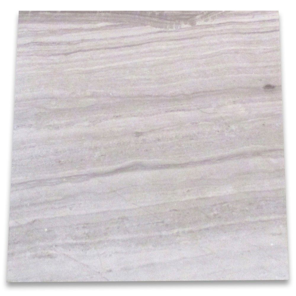 Athens Grey Wood Grain Marble 12x12 Tile Polished Grey Wood Wood Grain Wood