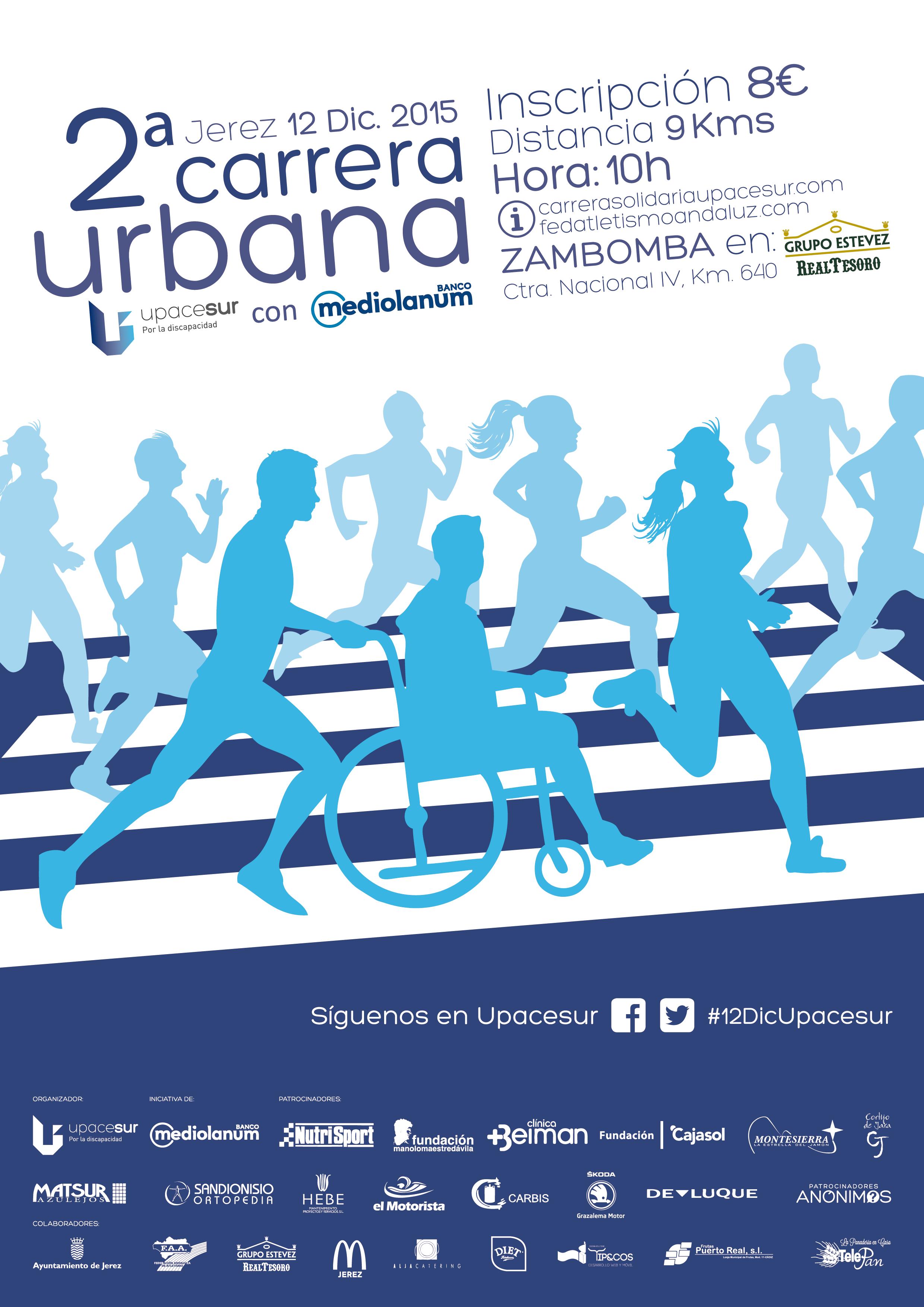 II carrera urbana Upacesur