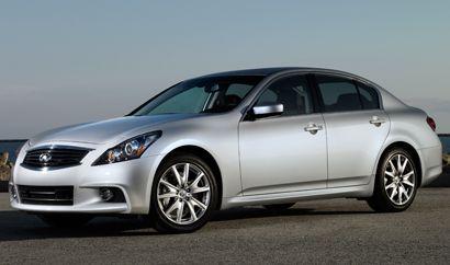 The 2012 Infiniti G Line Sedan. #Sedan #FamilyCar