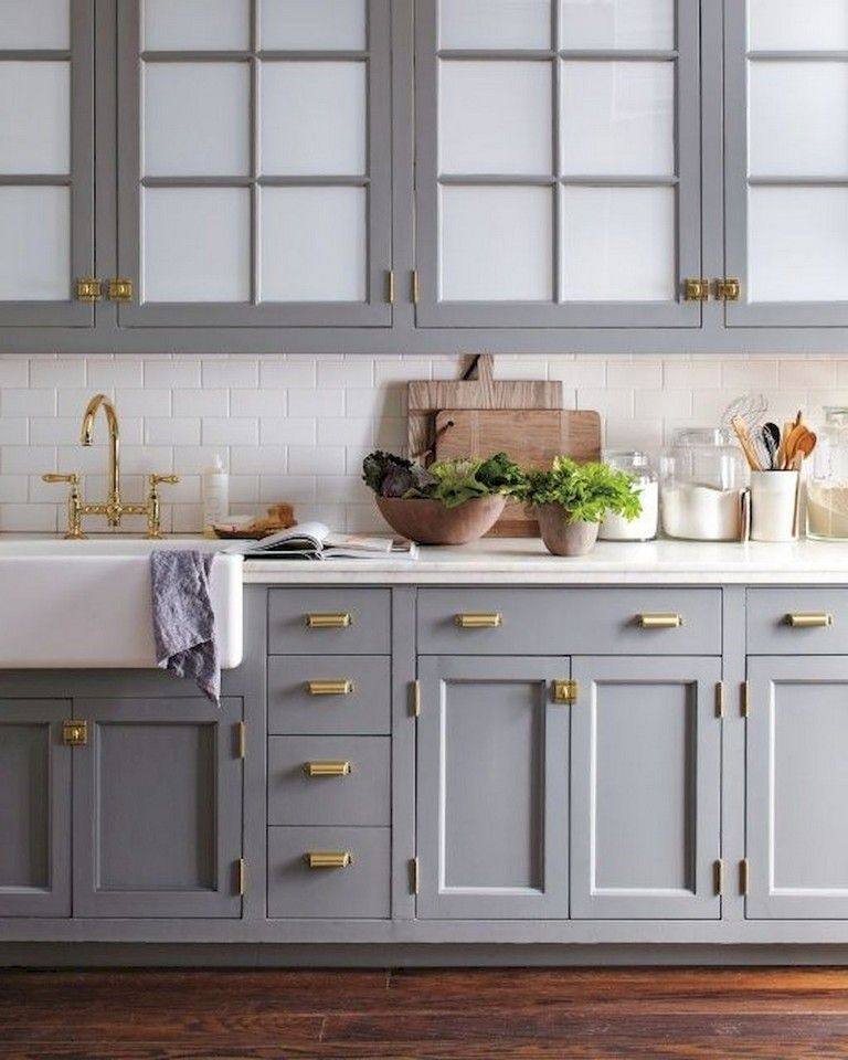 Incredible Kitchen Remodeling Ideas: 65+ Incredible Farmhouse Gray Kitchen Cabinet Design Ideas