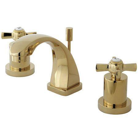 Kingston Brass Ks494 Zx Brass Bathroom Faucets Widespread