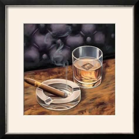 Gentlemen Prefer Ii Framed Photographic Print Marco Fabiano Art Com Photographic Print Cigars And Whiskey High Quality Art Prints