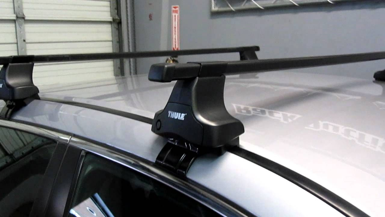 Thule Roof Rack For Cars Without Rails In 2020 Car Roof Racks Thule Roof Rack Car Racks