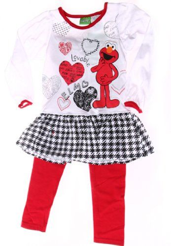 Perky New Elmo Clothes For Girls Baby Toddler Clothes