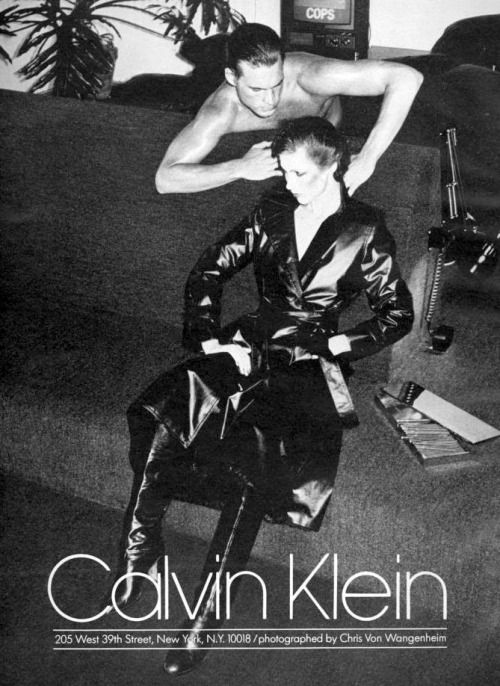Shot by Chris Von Wangenheim for Calvin Klein F/W 1975