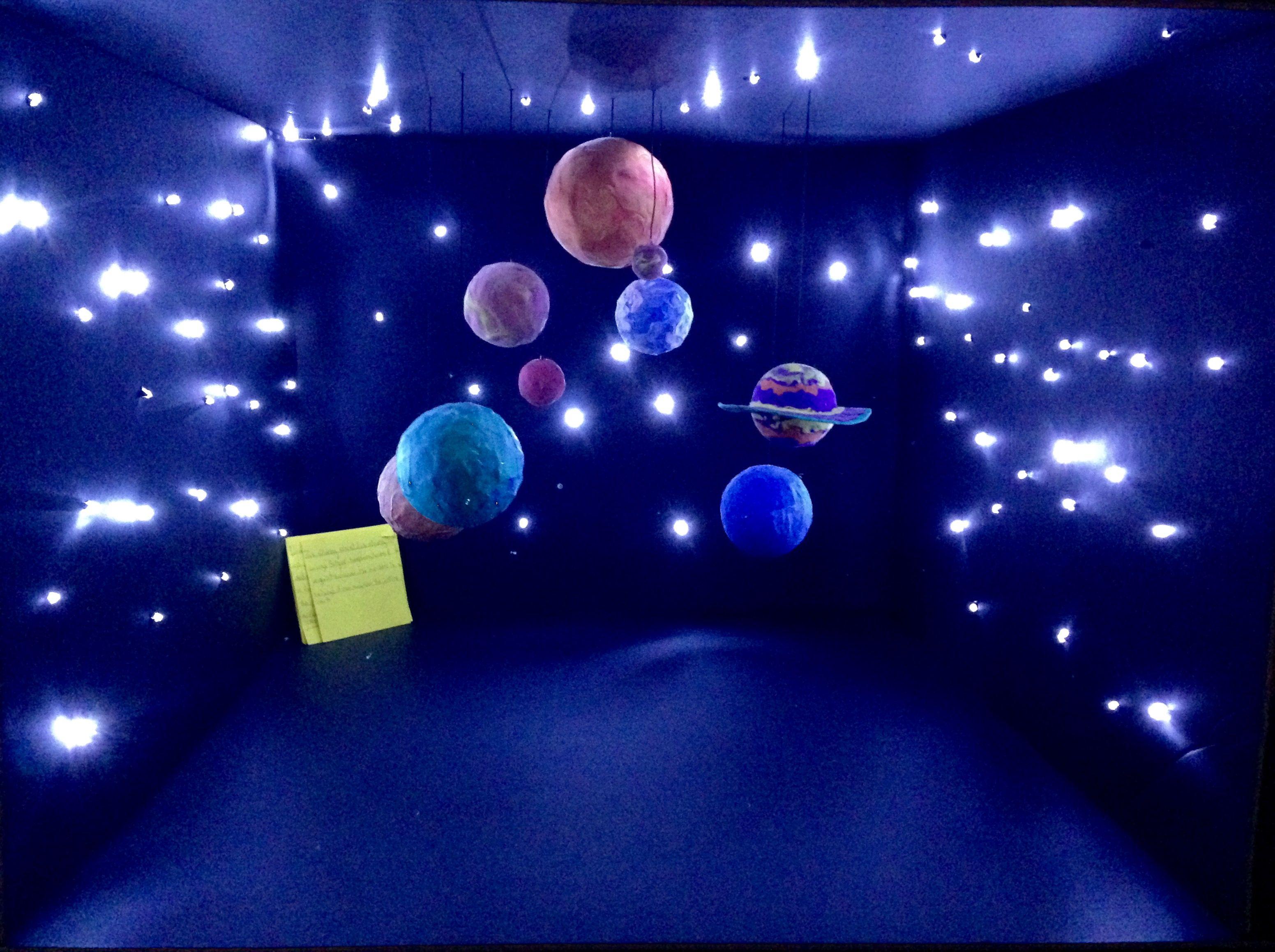 Solar system project for kids by Joumana Adham DIY
