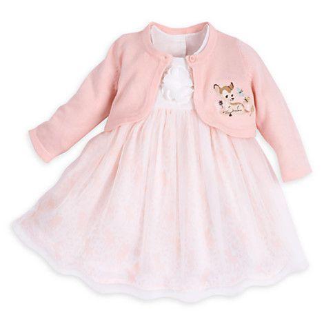 b7ced19f9 Bambi Deluxe Dress Set for Baby | Disney Store | Baby Girl | Disney ...