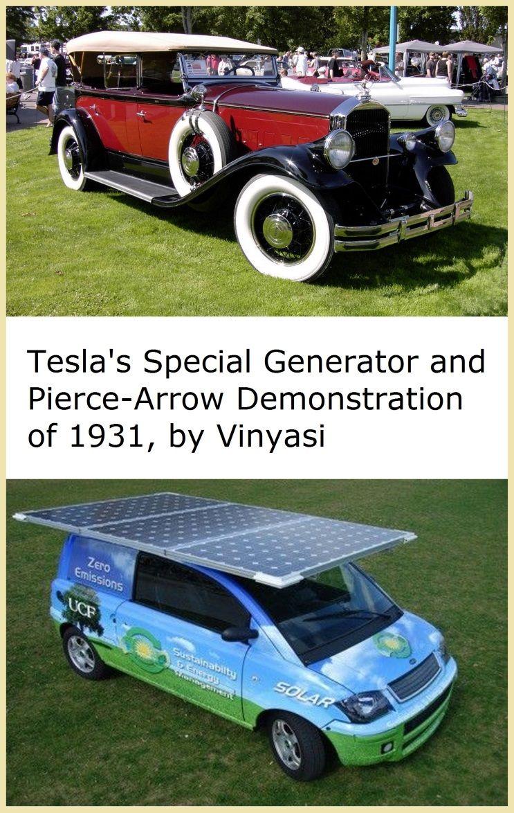 Tesla S Special Generator And Pierce Arrow Demonstration Of 1931