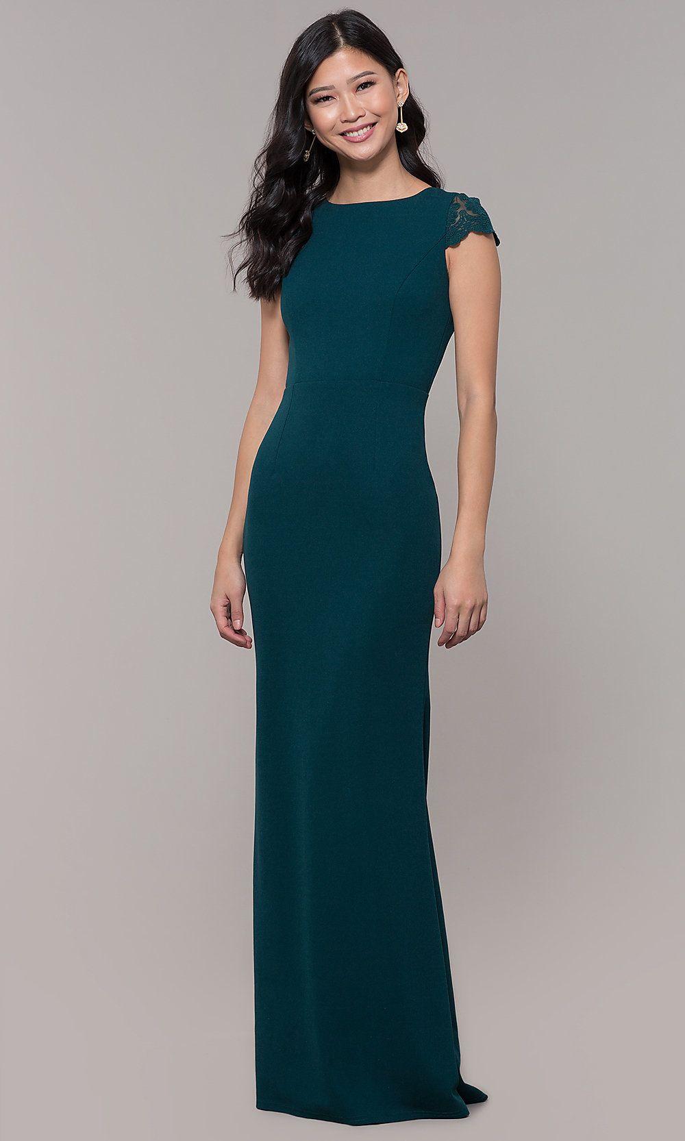 19++ Cap sleeve chiffon prom dress ideas