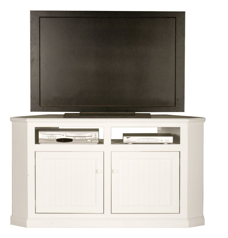 Coconut Creek Solid Wood Corner Tv Stand For Tvs Up To 65