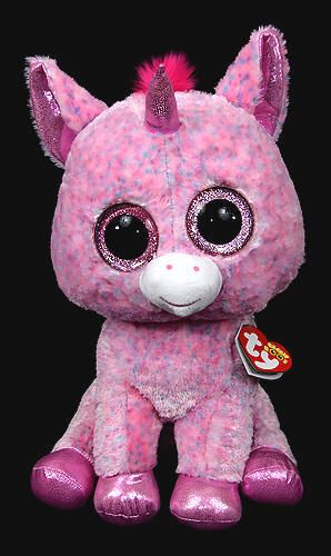 6d2e1c55495 Rosey (large) - unicorn - Ty Beanie Boos